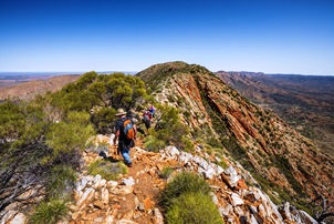 End to End Larapinta Trail Trek