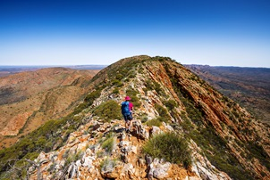 Super 6 Day Larapinta Trail Trek